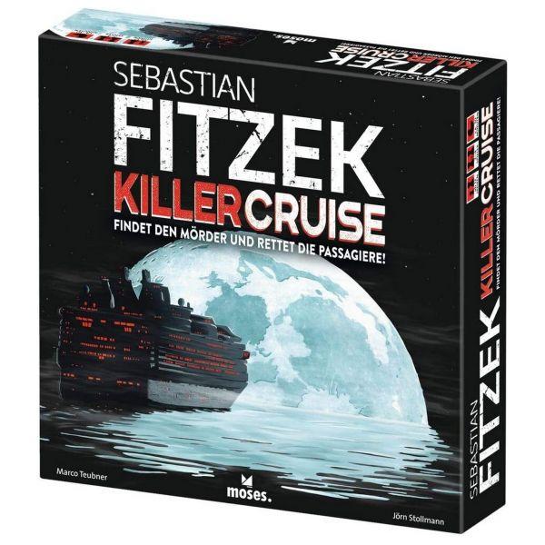 MOSES 108955 - Gesellschaftsspiel - Sebastian Fitzek Killercruise