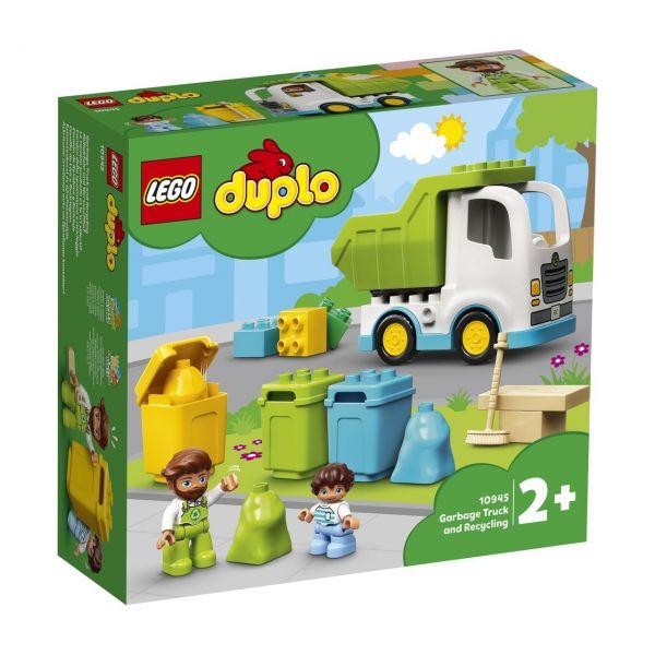 LEGO 10945 - DUPLO® - Müllabfuhr und Wertstoffhof