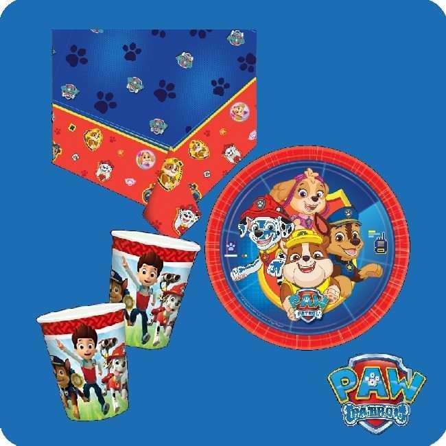 Partydekoration Kindergeburtstag Paw Patrol bei Spielzeugwelten