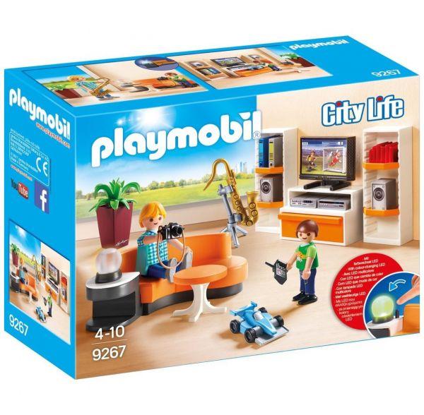 PLAYMOBIL 9267 - City Life Wohnhaus - Wohnzimmer