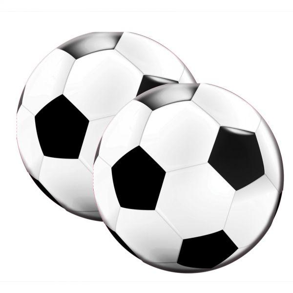 FOLAT 26202 - Geburtstag & Party - Fußball Servietten, 20 Stk., 33 cm