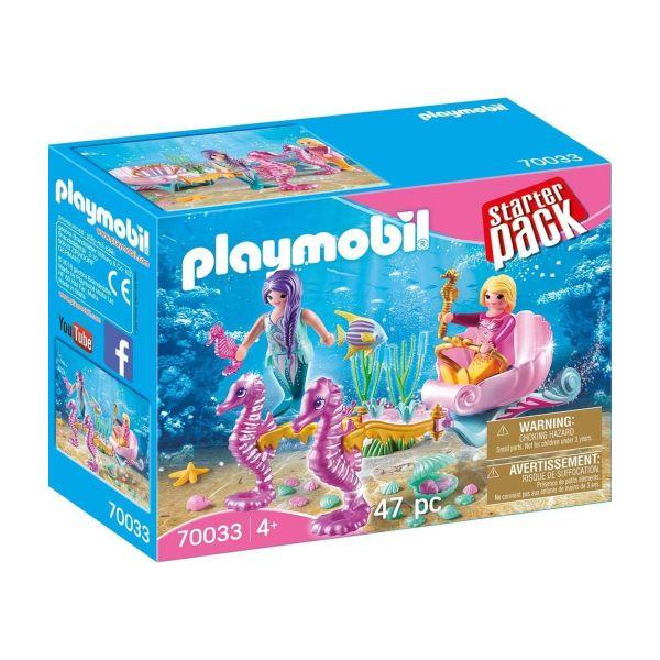 PLAYMOBIL 70033 - Starter Pack - Seepferdchenkutsche