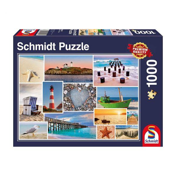 SCHMIDT 58221 - Puzzle - Am Meer, 1000 Teile