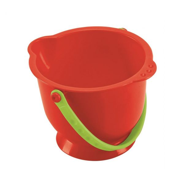 HAPE E8192 - Sandspielzeug - Kleiner Eimer, rot