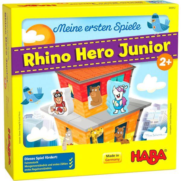 HABA 305912 - Meine ersten Spiele - Rhino Hero Junior