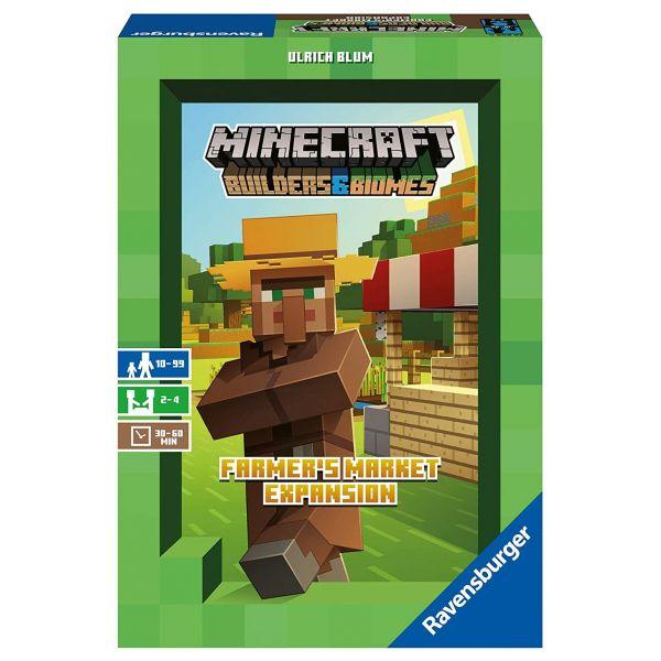 RAVENSBURGER 26869 - Kinderspiel - Minecraft Builders & Biomes Erweiterung