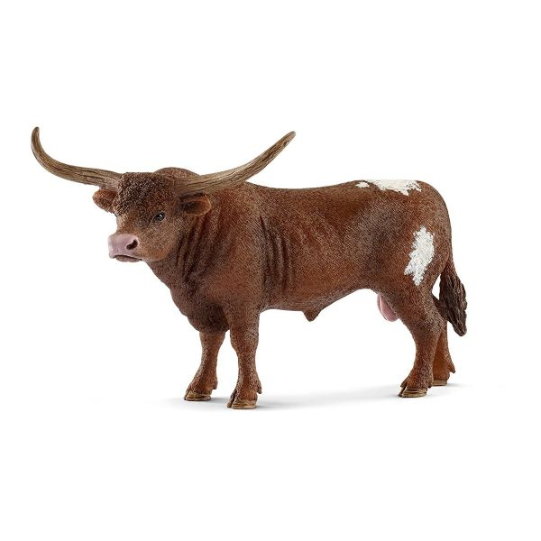SCHLEICH 13866 - Farm World - Texas Longhorn Bulle