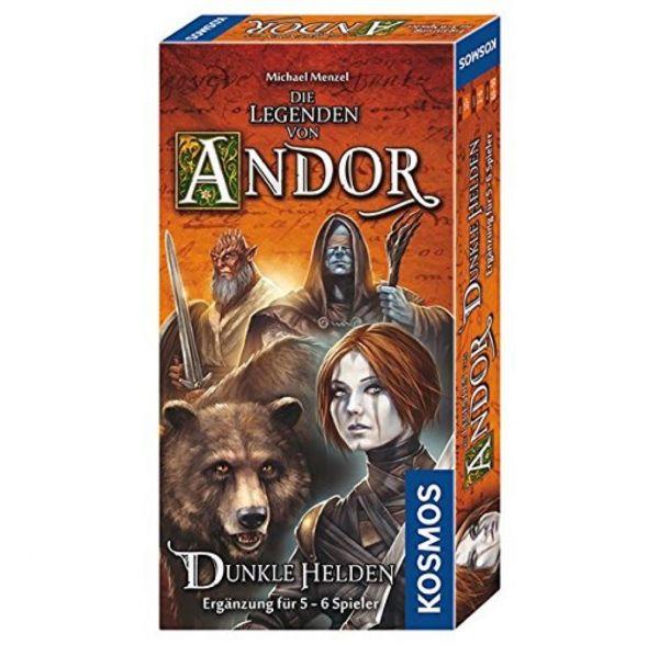 KOSMOS 692841 - Strategiespiel - Die Legenden von Andor - Dunkle Helden