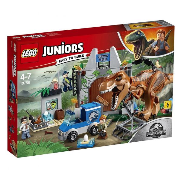 LEGO 10758 - Juniors - Jurassic World Ausbruch des T-Rex