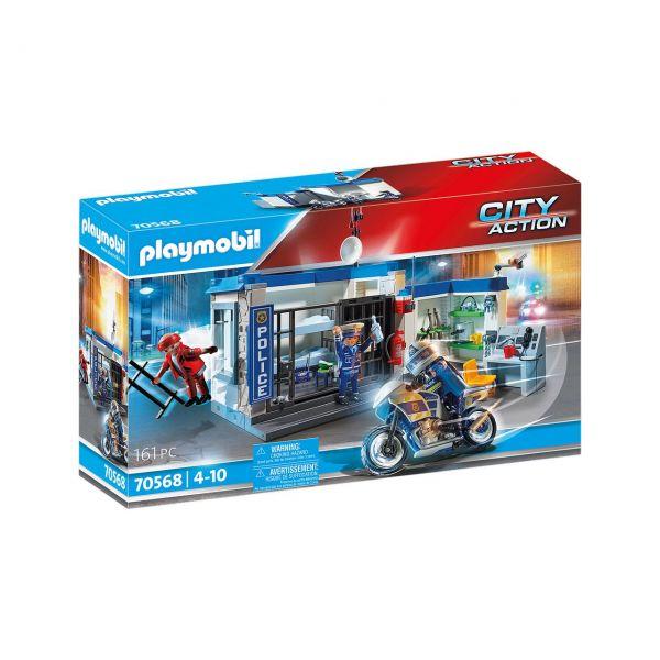 PLAYMOBIL 70568 - City Action - Polizei - Flucht aus dem Gefängnis