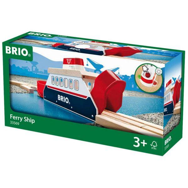 BRIO 33569 - Bahn - Light und Sound Fähre