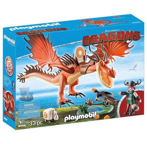 PLAYMOBIL 9459 - Dragons - Rotzbakke und Hakenzahn