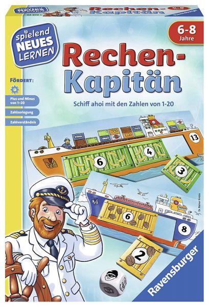 RAVENSBURGER 24972 - Lernspiel - Rechen-Kapitän