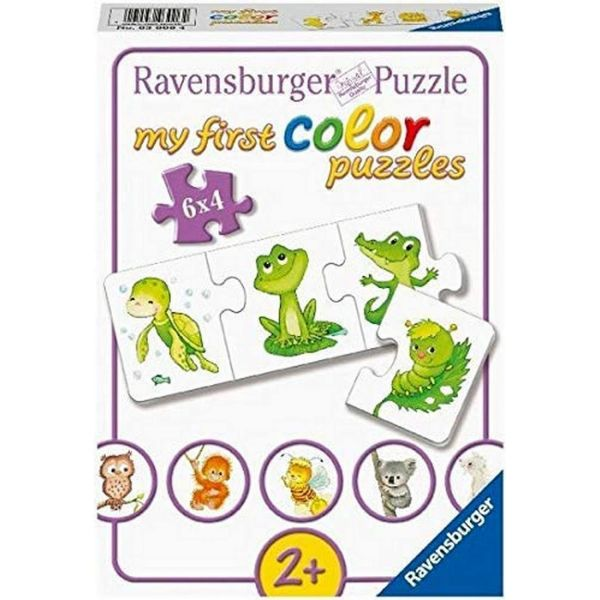 RAVENSBURGER 03006 - Meine ersten Puzzle - Tierkinder