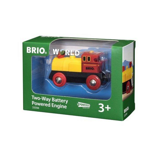 BRIO 33594 - Bahn - Gelbe Batterielok