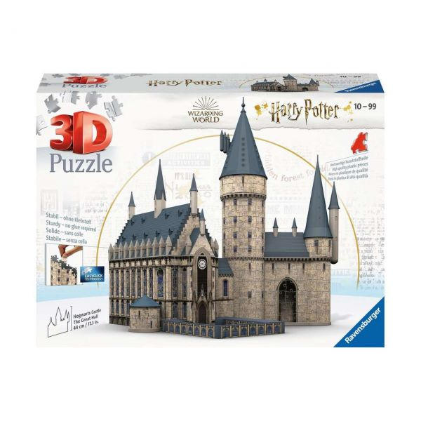 RAVENSBURGER 11259 - 3D Puzzle - Harry Potter Hogwarts Schloss, 540 Teile