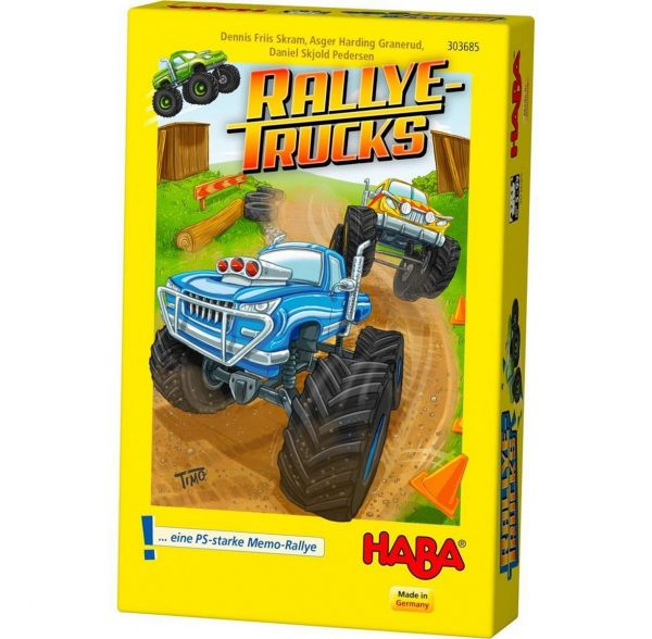 HABA 303685 - Mitbringspiel - Rallye Trucks