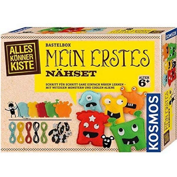 KOSMOS 604394 - AllesKönnerKiste - Mein erstes Nähset Nähen Lernen für Kinder