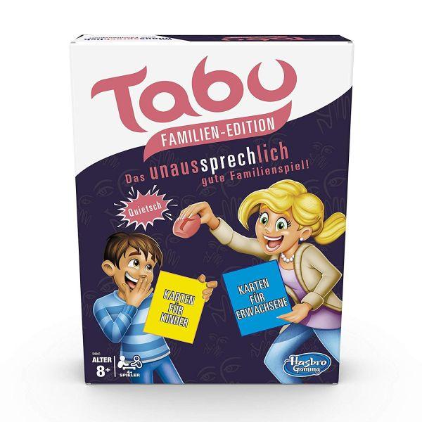 HASBRO E4941 - Gesellschaftsspiel - Tabu Familien Edition