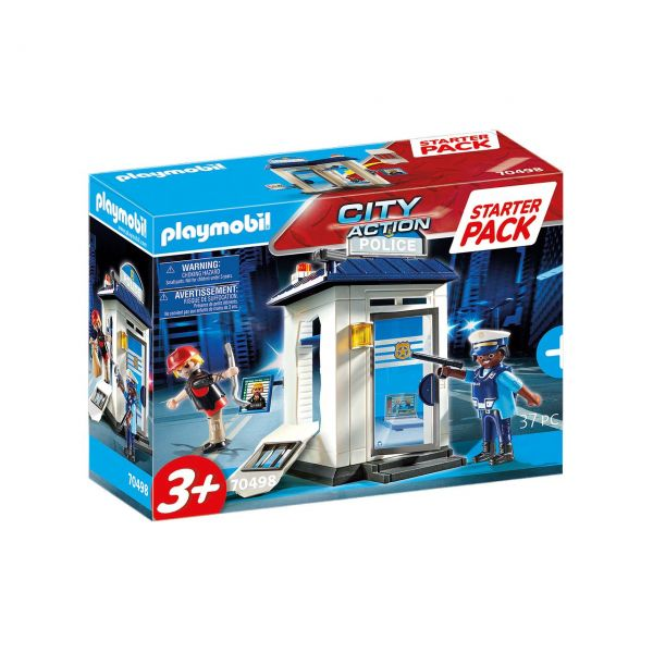 PLAYMOBIL 70498 - City Action - Polizei, Starter Pack