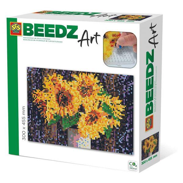 SES 06003 - Beedz Bügelperlen-Sets - Sonnenblumen