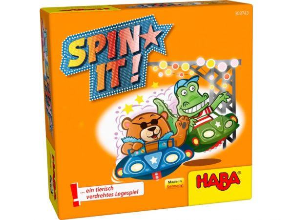 HABA 303743 - Mitbringspiel - Spin it!