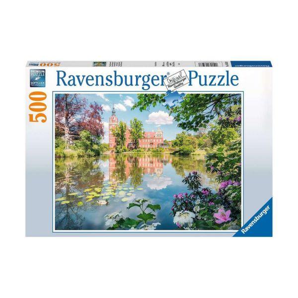 RAVENSBURGER 16593 - Puzzle - Märchenhaftes Schloss Muskau, 500 Teile