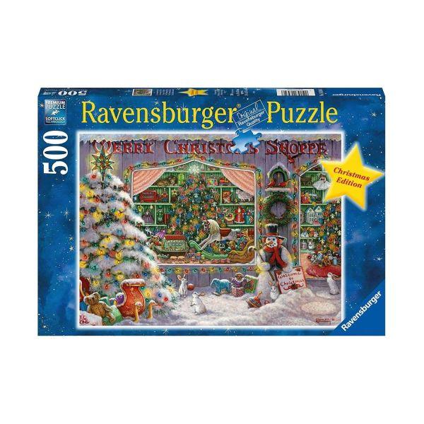 RAVENSBURGER 16534 - Puzzle - Weihnachten Es weihnachtet sehr, 500 Teile