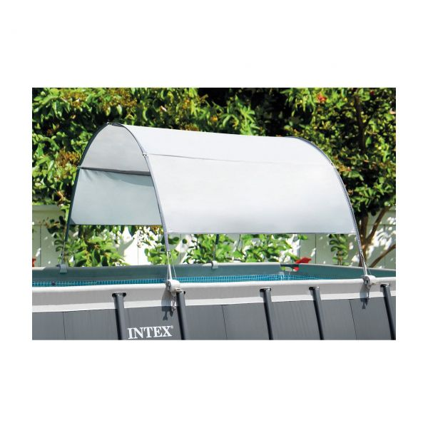 INTEX 28054 - Poolzubehör - Pool Überdachung, 375x300cm
