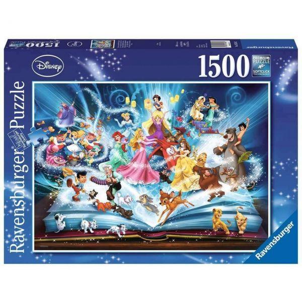 RAVENSBURGER 16318 - Puzzle - Disney's magisches Märchenbuch, 1500 Teile