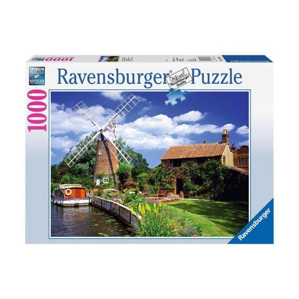 RAVENSBURGER 15786 - Puzzle - Malerische Windmühle, 1000 Teile