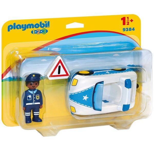 PLAYMOBIL 9384 - 1.2.3 - Polizeiauto