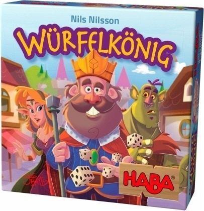 HABA 303485 - Mitbringspiel - Würfelkönig - Spiel