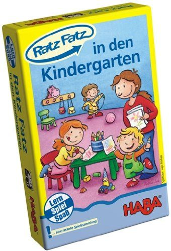 HABA 4605 - Lernspiel - Ratz Fatz - Im Kindergarten
