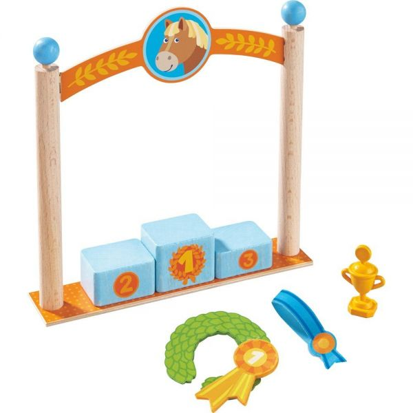 HABA 303048 - Little Friends - Spielset Siegerpodest