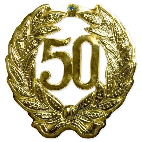 FOLAT 21491 - Geburtstag & Party - Wanddekoration Jubiläum 50 Jahre