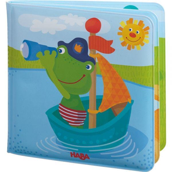 HABA 302634 - Badespaß - Badebuch Kapitän Frosch