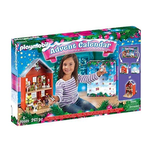 PLAYMOBIL 70383 - Adventskalender XXL - Weihnachten im Stadthaus