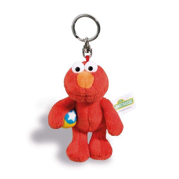 NICI 41961 - Schlüsselanhänger Sesamstraße - Elmo, 10 cm