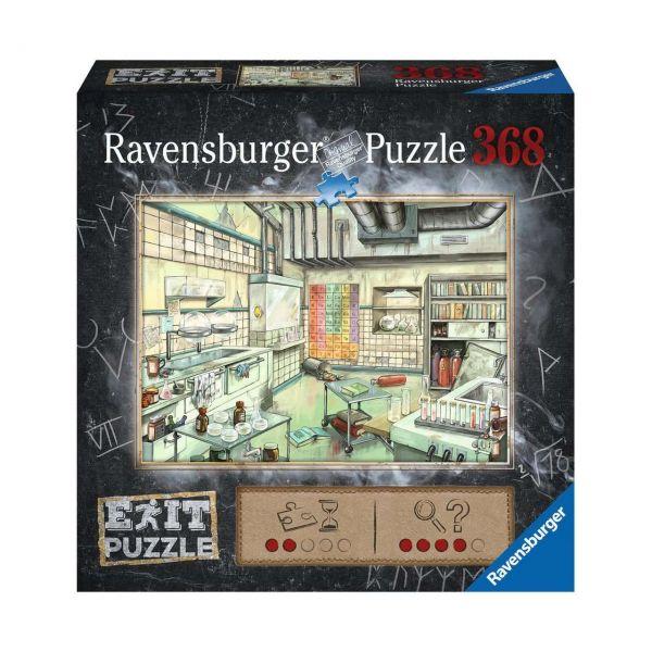 RAVENSBURGER 16783 - Puzzle - Exit: Das Labor, 368 Teile