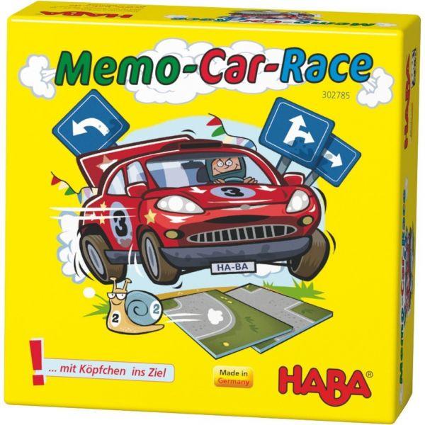HABA 302785 - Mitbringspiel - Memo-Car-Race