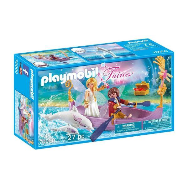 PLAYMOBIL 70000 - Fairies - Romantisches Feenboot
