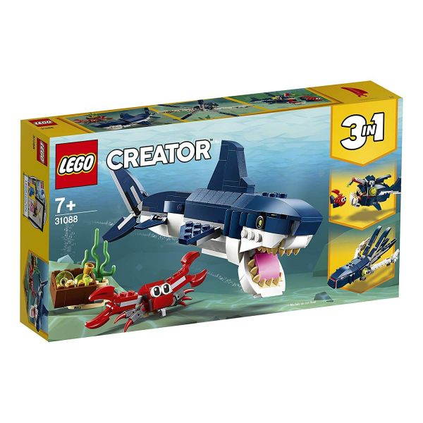 LEGO 31088 - Creator - Bewohner der Tiefsee