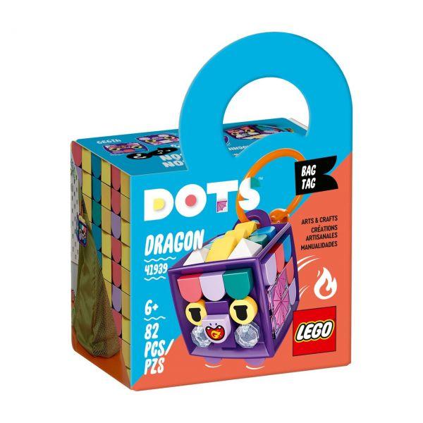 LEGO 41939 - DOTS - Taschenanhänger Drache