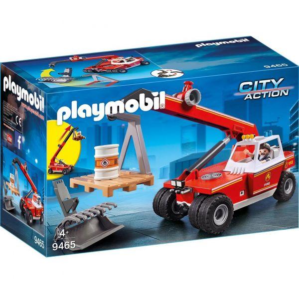 PLAYMOBIL 9465 - City Action Feuerwehr - Feuerwehr-Teleskoplader