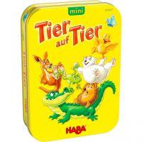 HABA 305907 - Kinderspiel - Tier auf Tier mini