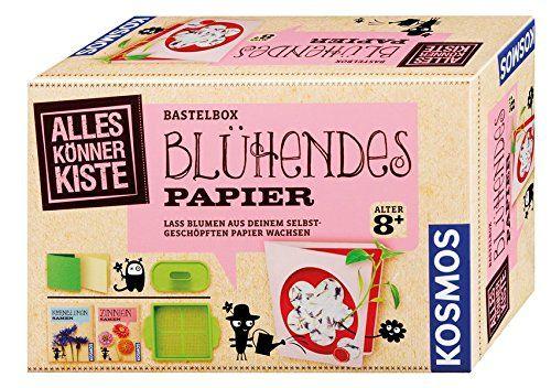 KOSMOS 604202 - Alles Könner Kiste - Blühendes Papier