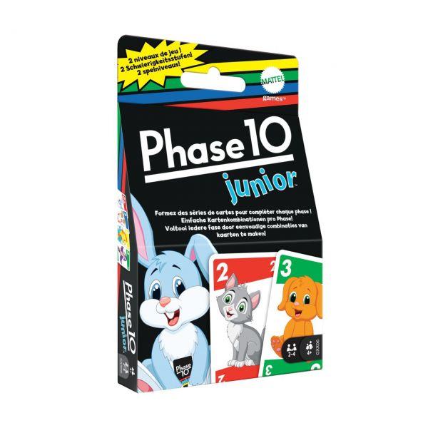 MATTEL GXX06 - Kartenspiel - Phase 10 Junior