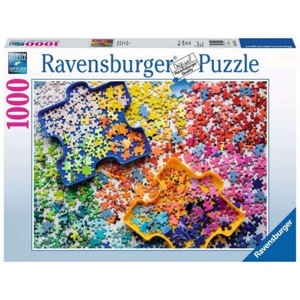 RAVENSBURGER 15274 - Puzzle - Viele bunte Puzzleteile, 1000 Teile