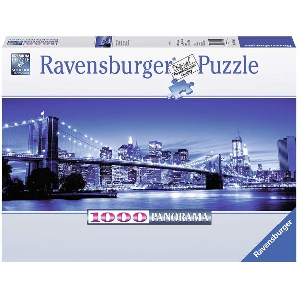 RAVENSBURGER 15050 - Puzzle - Leuchtendes New York, 1000 Teile